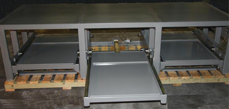 AP5 Injection Molds Storage Rack - 6000 Lb Shelf Capacity & AP5 Injection Molds Roll-Out Storage Rack 6000 Lb Shelf Capacity ...