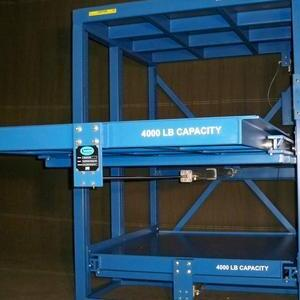 APH1  sc 1 st  Proper Storage Systems & APH1 Injection Molds Roll-Out Storage Rack 8000 Lb Shelf Capacity ...